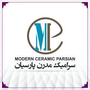 لوگوی سرامیک مدرن پارسیان